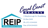 Coral Coast Realty, Bundaberg, 4670
