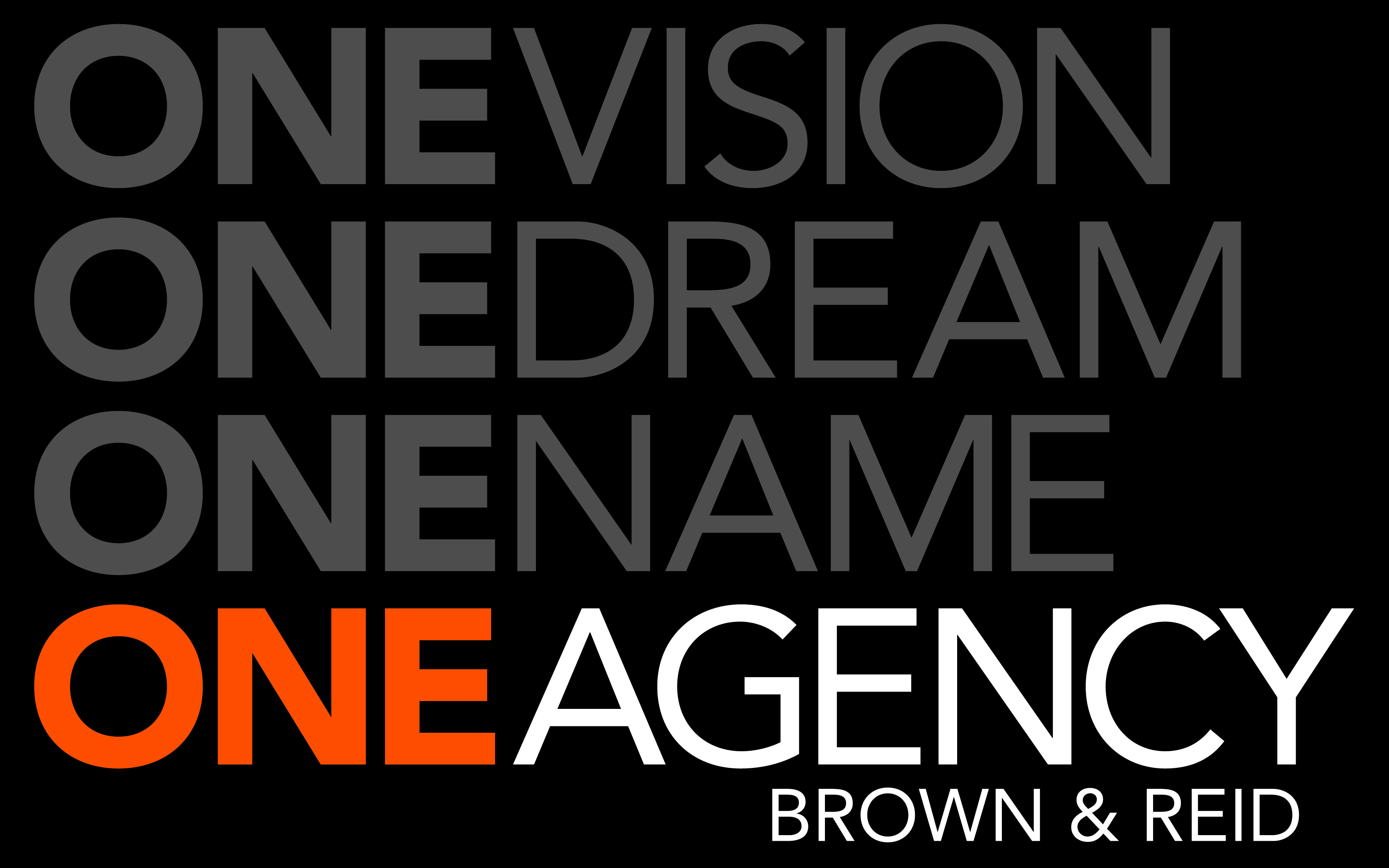 One Agency Brown & Reid , toronto, 2283