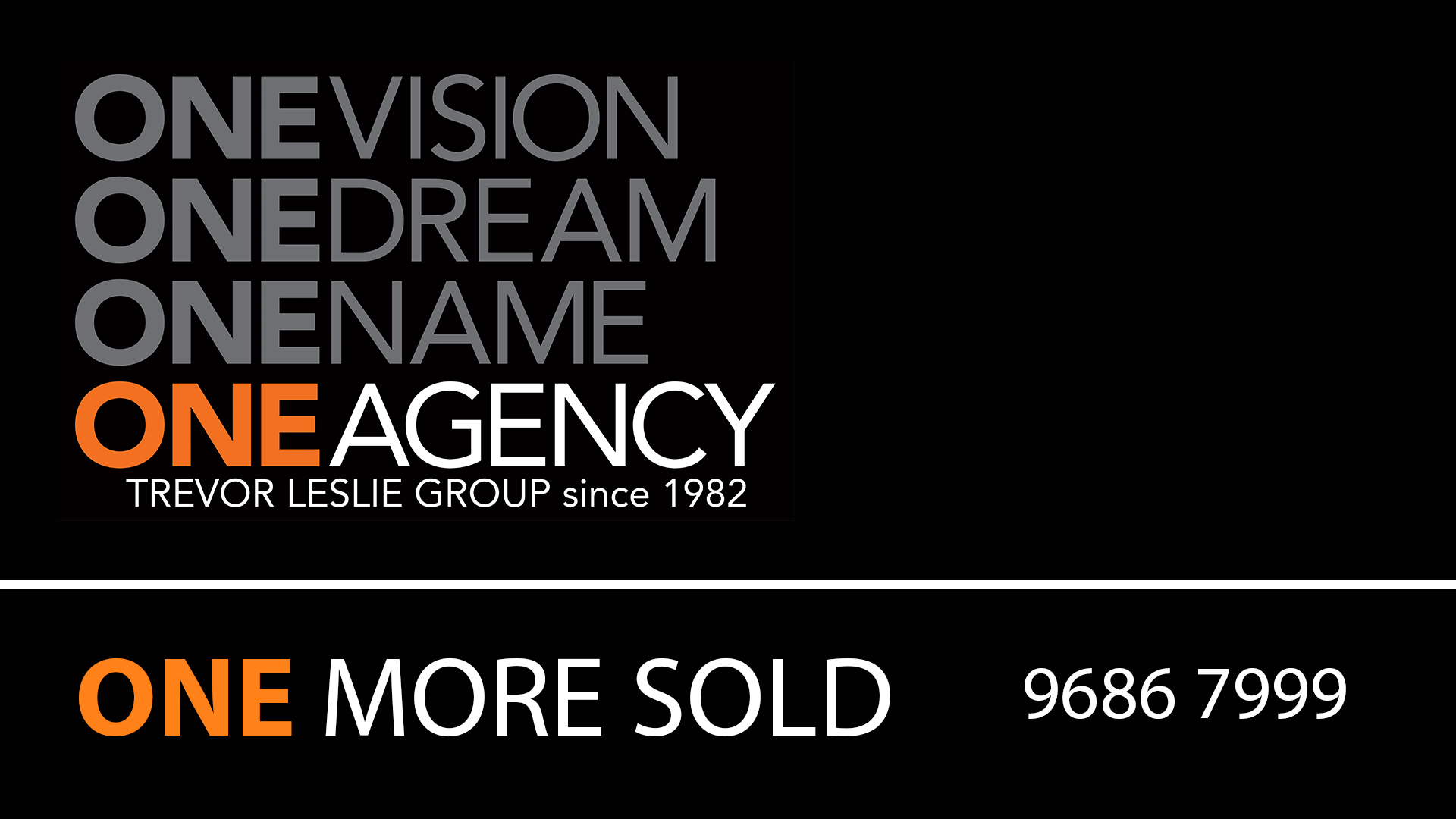One Agency Trevor Leslie Group since 1982, Baulkham Hills, 2153