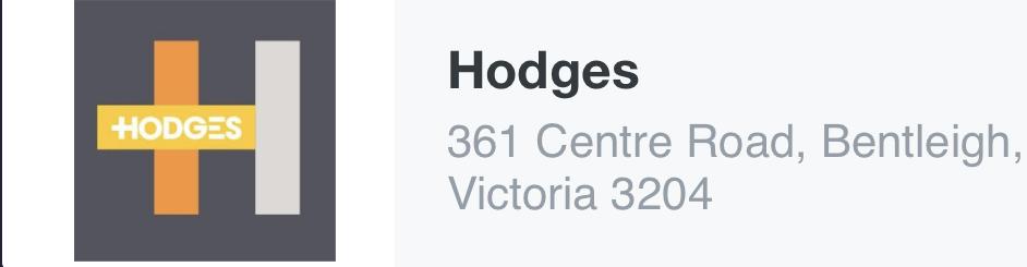 Hodges, Bentleigh, 3204