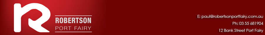 Robertson Port Fairy, Port Fairy, 3284